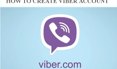 How to Create Viber Account.