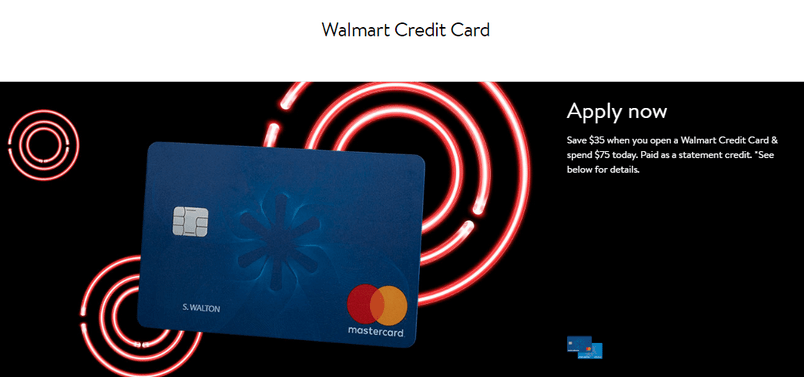 Apply for Walmart Credit Card Online Faster
