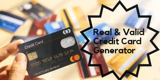 Image: Best Credit Card Generator