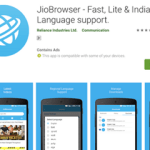 Jio Browser for Android Smartphone (Launched)