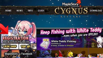 Image: Maplestory Account