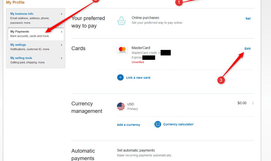 Verify Credit / Debit Card Linked with your PayPal Account – see how to do it if you haven't