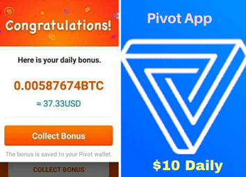 Pivot Bitcoin App – Earn Free Bitcoin On Pivot