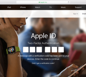 Image: New Apple ID Account