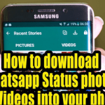 WhatsApp Status Download On Android and PC