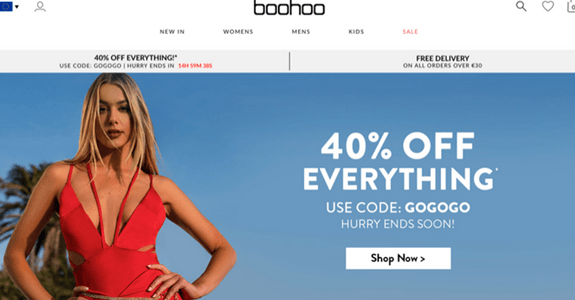 Boohoo Online Store – Boohoo Products and Service