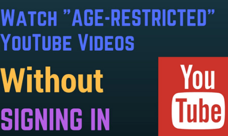 Image: Watch Restricted YouTube Videos
