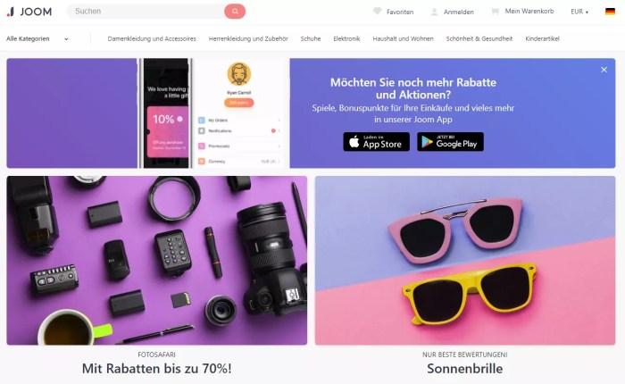 Russischer E-Commerce-Marktplatz JOOM will französische Markenprodukte ins Sortiment aufnehmen