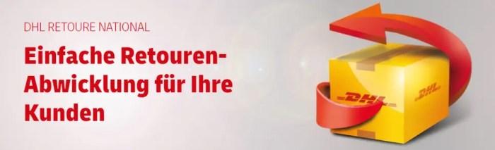 Mobile Retoure: DHL vereinfacht das Retourenhandling für Geschäftskunden und Endkunden