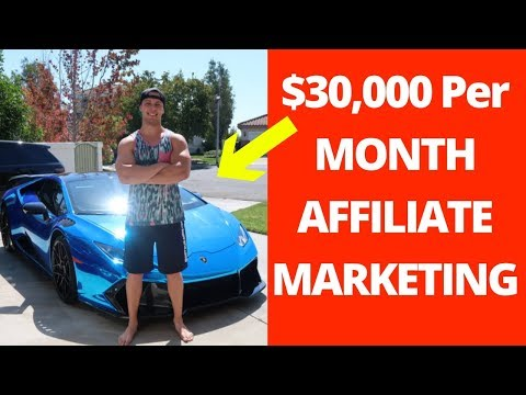 The 5 Steps To Make $30,000 Affiliate Marketing With NO EXPERIENCE