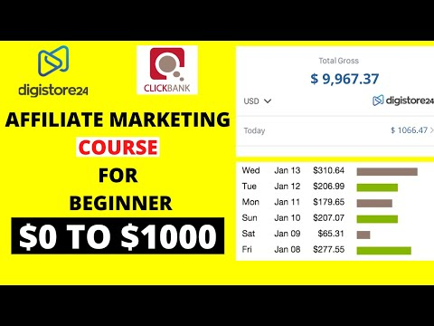Clickbank & Digistore24 Affiliate Marketing Direction for Newbie 2021 – Free & Paid Manner Each and each