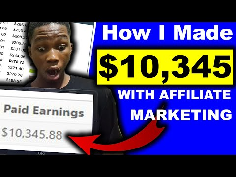 $10,345+ CASE STUDY – COPY My Affiliate Marketing Methods (For Inexperienced persons!)