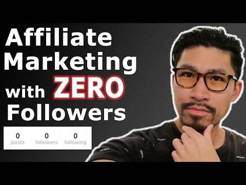 Birth Affiliate Advertising and marketing with ZERO Followers!