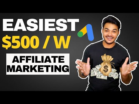 Simplest & Easy Capacity To Enjoy $500/ Week Affiliate Advertising With Google Commercials In 2021 [ Earn Money Fast ]