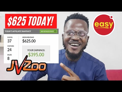 JVZoo Affiliate Advertising and marketing Tutorial: How I Made $625 in a day [Step-by-Step]
