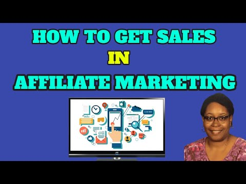 How To Derive Sales In Affiliate Marketing | Affiliate Marketing For Rookies