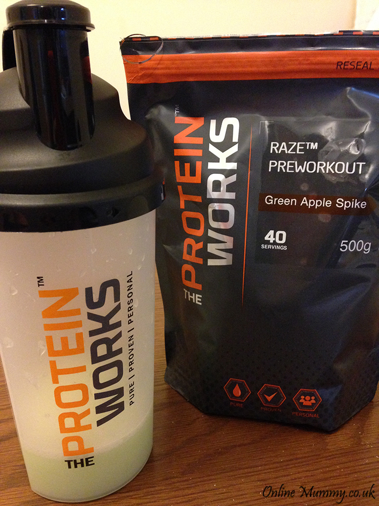 The Protein Works RAZE Preworkout