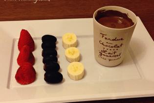 Aux Anysetiers du Roy Chocolate Fondue