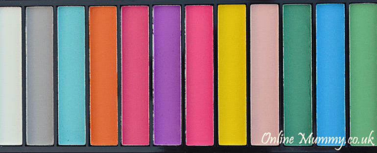 Makeup Revolution Matte Brights Eyeshadow Palette