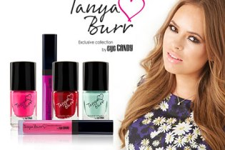 Tanya Burr Lips and Nails