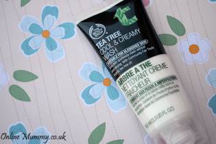 Body Shop Tea Tree Cool and Creamy Face Wash