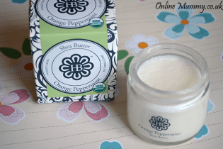 HollyBeth Organics Orange Peppermint Shea Butter
