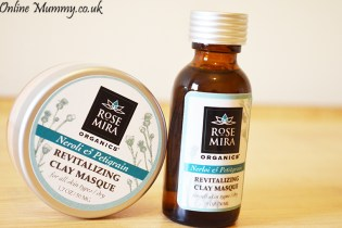 Rosemira Organics Neroli and Petitgrain Revitalizing Clay Masque