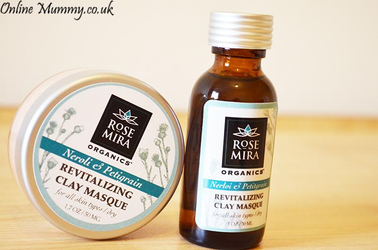 Rosemira Organics Neroli and Petitgrain Revitalizing Clay Masque