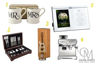 Top 5 Wedding Gifts