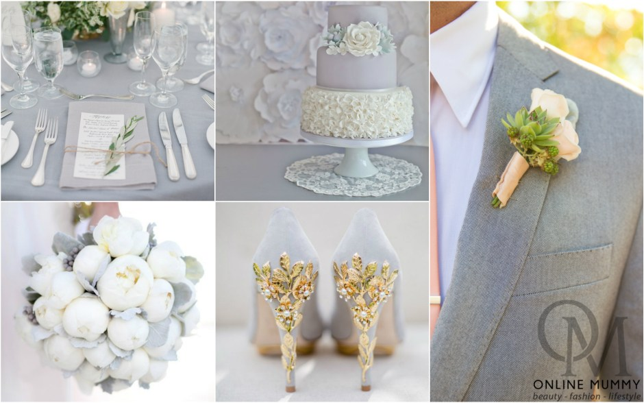 Wedding Wednesdays Colour Ideas #3 – Simply Grey
