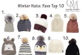 Winter Hats: Fave Top 10