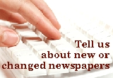 Email OLN About New Newspapers