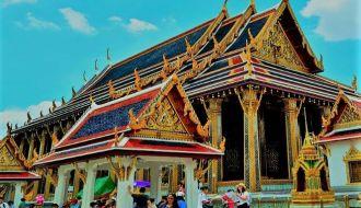 temple thai tourist