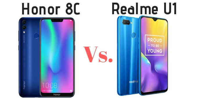 Honor 8c vs Realme U1