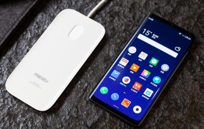 Meizu-Zero with no buttons
