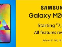 Price And Specifications of Samsung Galaxy M10 And M20 India Launch