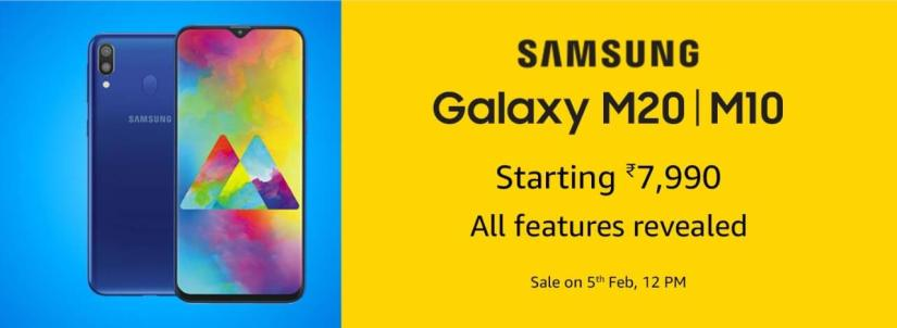 Samsung Galaxy M series india launch price