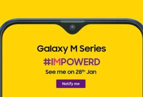 Samsung Galaxy M Series India Launch on 28 January – Specifications