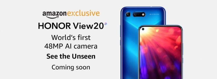 upcoming android phones in india 2019- honor view 20