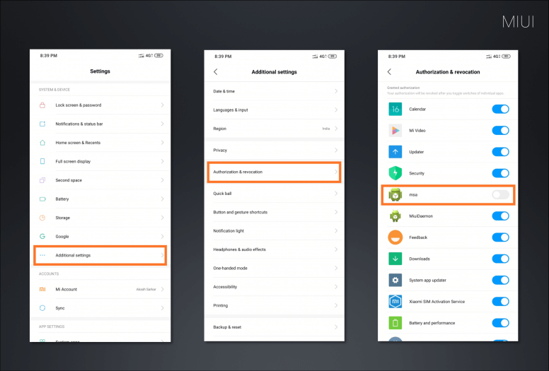 remove ads from miui system
