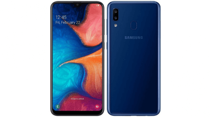Galaxy A20 price and Specifications in India