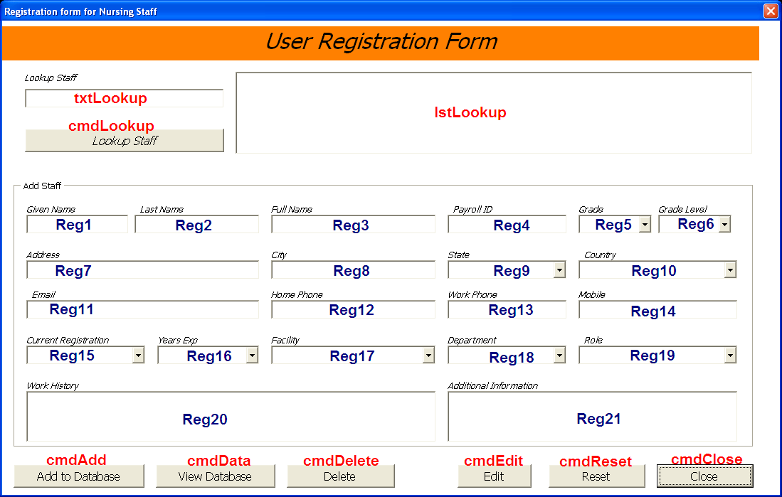 Free Online Registration Software