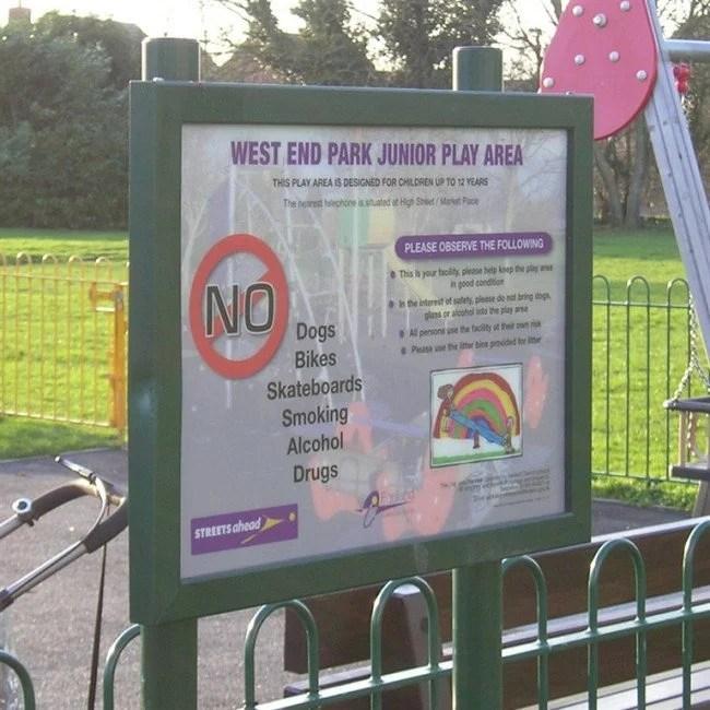 Playground Signs Playground Signs Online Playgrounds