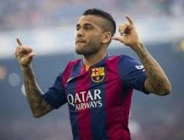 Dani Alves new contract