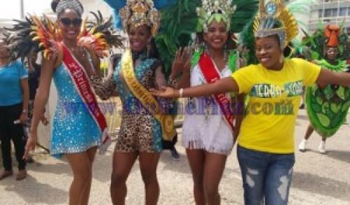 Calabar Carnival 2015 International parade