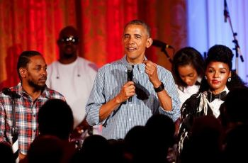 Watch Kendrick Lamar & Janelle Monáe Perform at the White House