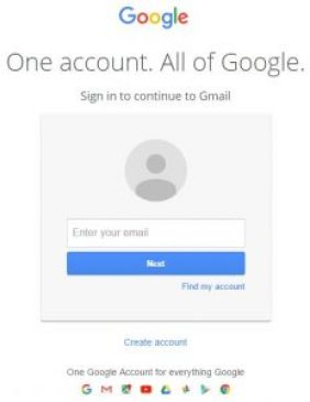 Gmail Login Page & Gmail Sign In www.gmail.com