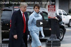 Live Video Of Donald Trump Inauguration