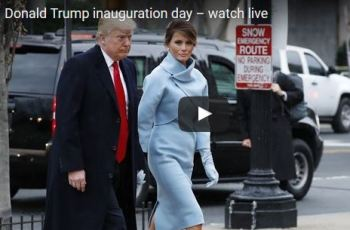 Live Video Of Donald Trump Inauguration
