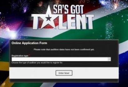 SA's Got Talent 2017 Registration